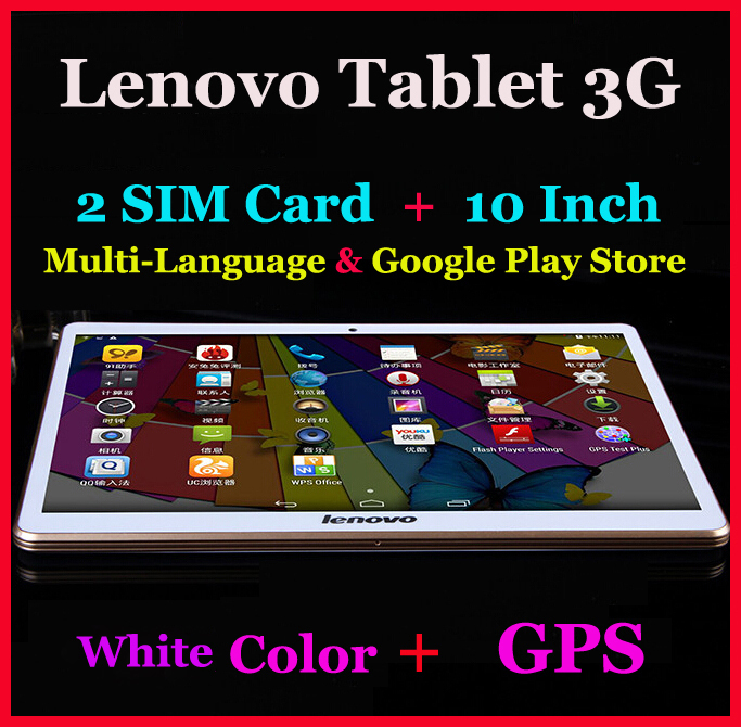 10inch 32GB ROM 2SIM Card Android 4.4 GPS Lenovo tablet PC 3G Voice Phone Call Tablet Octa Core phablet RAM 3GB Tab Child Gift(China (Mainland))