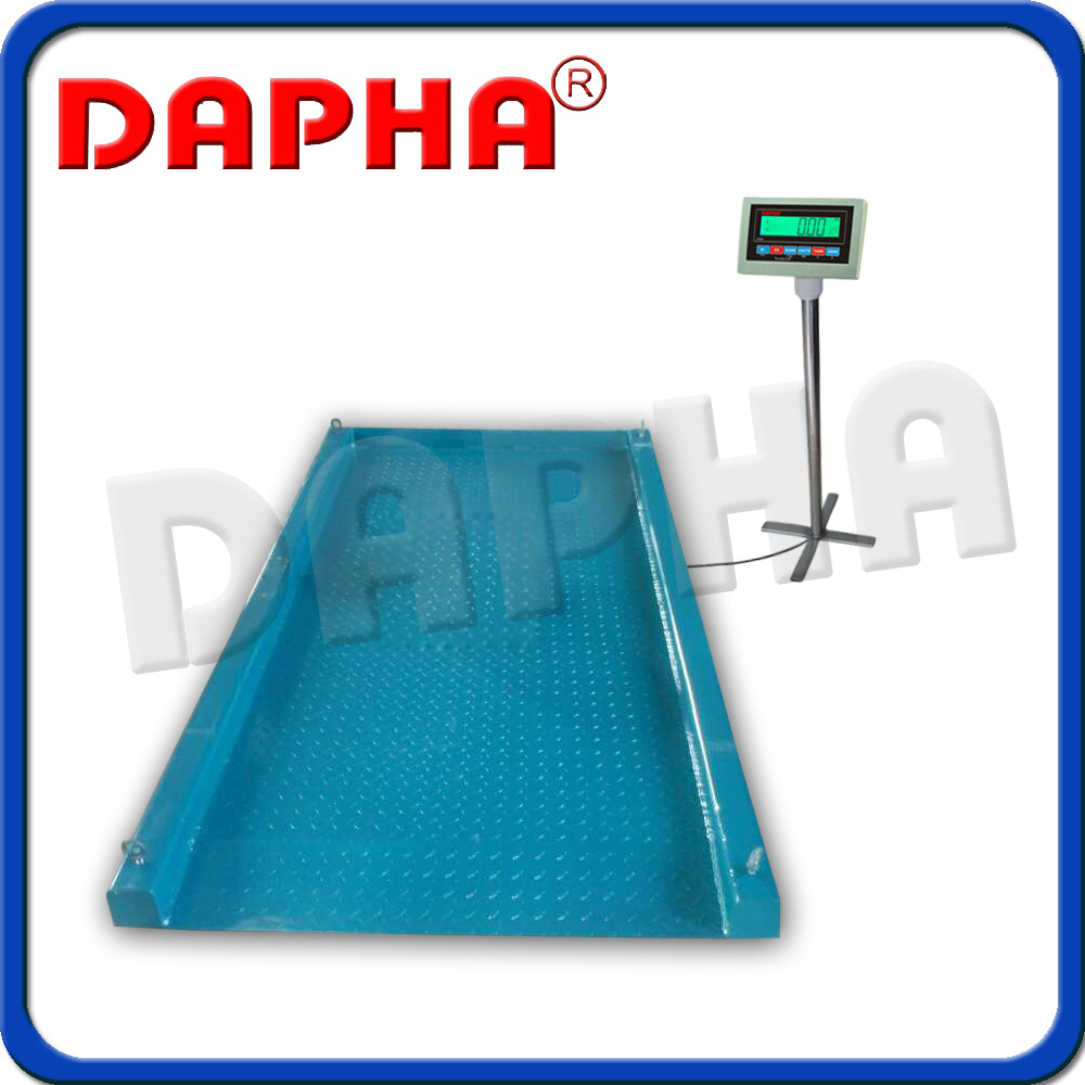 Industrial floor scale dfs 3000 1 2 3 m in weighing for 1 2 3 floor