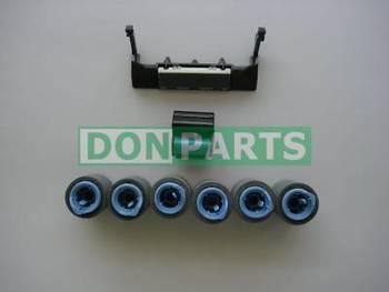 Maintenance Roller Kit 8pcs for HP LaserJet 4000 4050 Paper Jam Repair Tray 1/2
