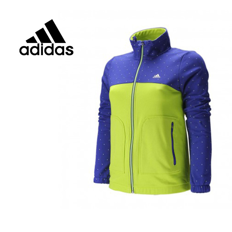 100% original adidas womens running jacket spring S14161 free shipping<br>
