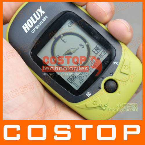 HOLUX GR-260 Data Logger GPSport260 Bicycle GPS Receiver Out door and Professional GPS planimeter gr-245 Upgraded version(China (Mainland))