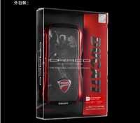 Aluminum Hybrid case Metal Case for iPhone 5 5G 5S bumper Ducati retail packaging with Send screen protector