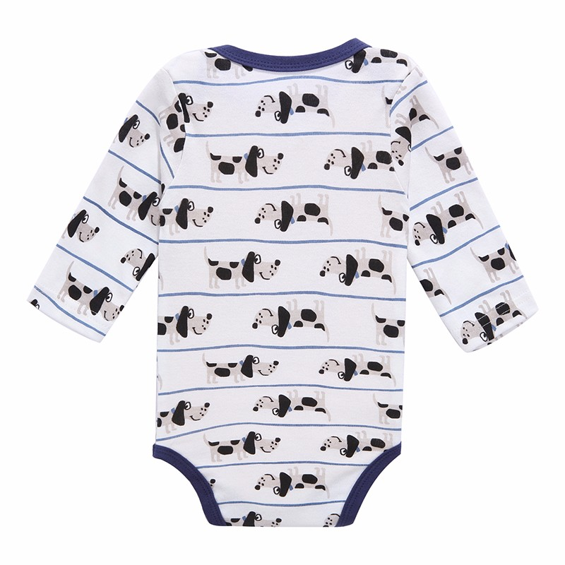 Mother Nest 3 PcsLot Baby Romper Infant Romper Long Sleeve Jumpsuit Romper 12 Colors Brand Baby Girl Boy Clothing Christmas (1)