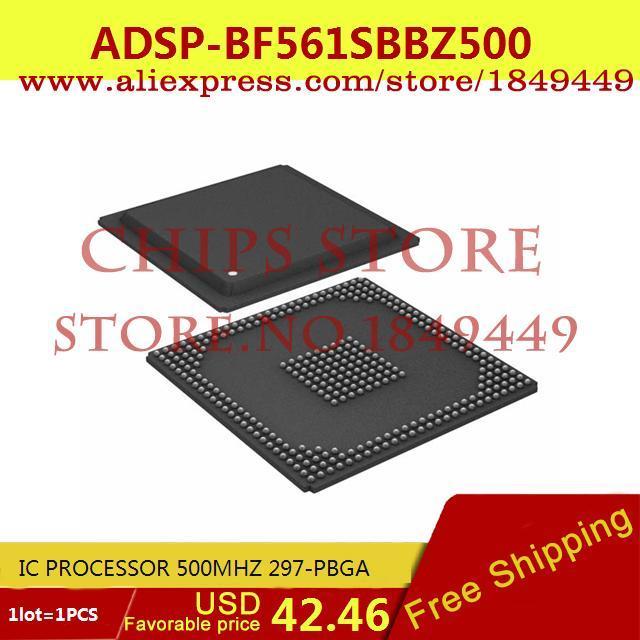 Бесплатная Доставка Электронные Компоненты в Исходном ADSP-BF561SBBZ500 IC ПРОЦЕССОР 500 МГЦ 297-PBGA 561 ADSP-BF561 1 ШТ. 10pcs adsp 2189mkst 300 new