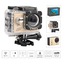 Buy Sport Action camera deportiva Video Camera Ultra HD 4K WiFi 1080P 60fps 2.0 LCD 170D go sport waterproof pro camera Wifi DV Cam for $38.37 in AliExpress store