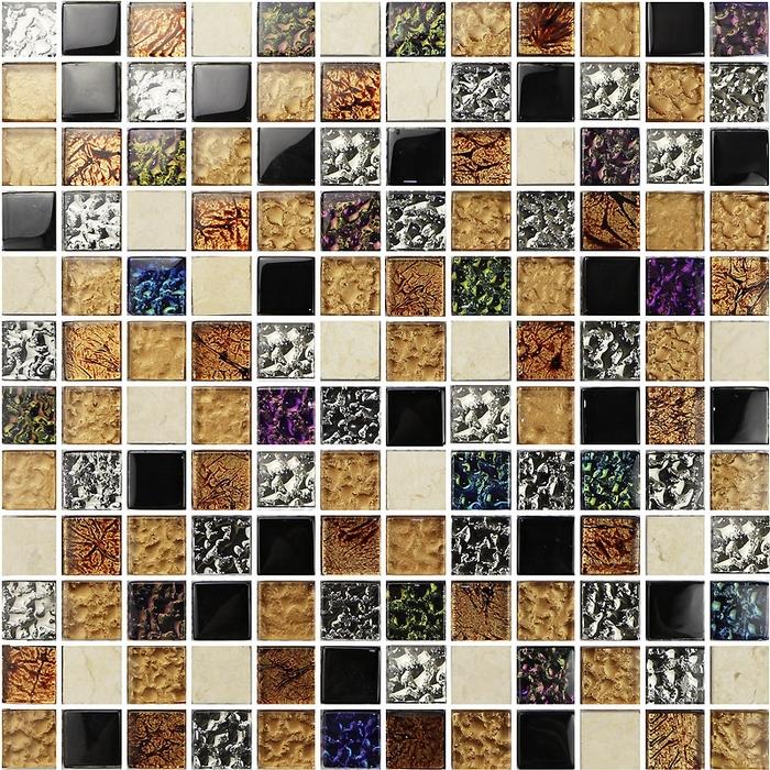 Metal subway tiles