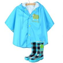 3pcs New  Life Cute Baby Cartoon Big Ear Children Waterproof Suit Poncho Small Bicycle Cape Raincoat Impermeable Rain Poncho