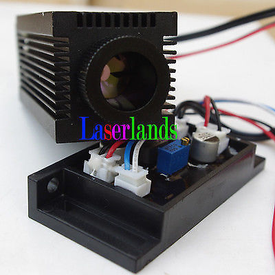 Industrial 12V 200mW Blue/Violet Blu-Ray 405nm Laser Diode Module w/TTL(China (Mainland))