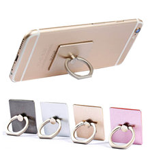 2016 Universl Finger Ring Mobile Phone Smartphone Stand Holder THL W100 W8 W11 T5 BLU Dash M D030U & Car - KuTao store