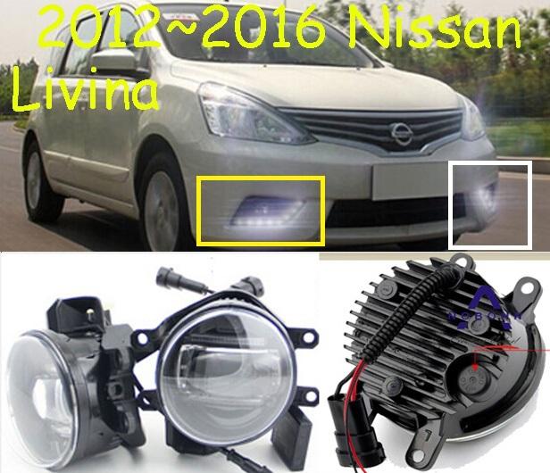 2009~2016 Livina LED fog Daytime Running light ,2pcs/set(1pcs L+1pcs R),10W 9~30V,AL Metal material,Excellent!<br><br>Aliexpress