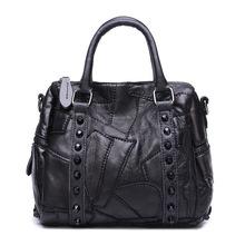 2016 Original Single Foreign Trade Imported Sheepskin Package Ma'am Genuine Leather Handbag Bag Diagonal Trend Leisure Time(China (Mainland))