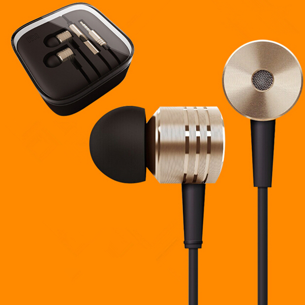 100%Original XIAOMI Earphones Stereo 3.5mm Jack Bass Ear noise isolating Headphones MP3 MP4 Android Phone MIC Headsets - PULILE store