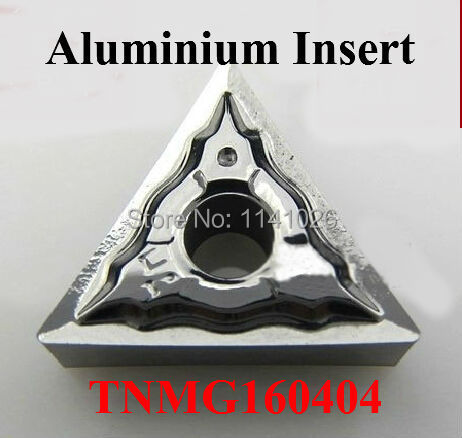 Free Shipping 10 PCS TNMG160404 Aluminum Alum Inserts ,Factory outlets, the lather,boring bar,cnc,machine(China (Mainland))