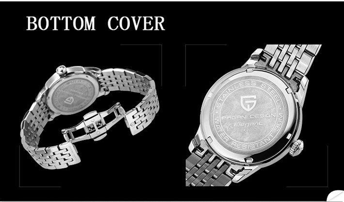 Продвижение 2016 прямых продаж Простой Три Игла Циферблат Кварцевые Часы Водонепроницаемые Спортивные Часы Мужчины Лучший Бренд Класса Люкс Pagani Дизайн