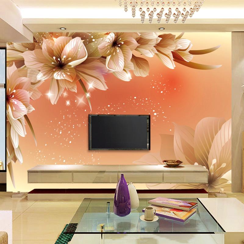 2014 papel de parede para sala chinese wallpaper 3d large for Sofa para sala de tv
