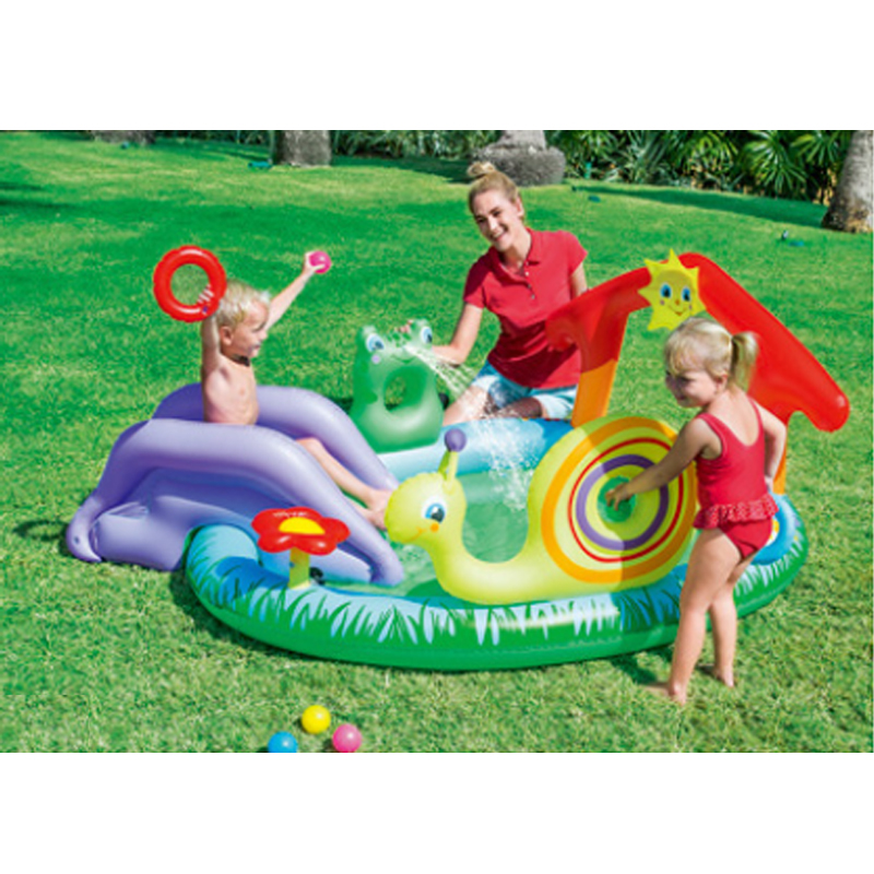 211 155 81cm cute baby inflatable marine ball water pool for Baby garden pool