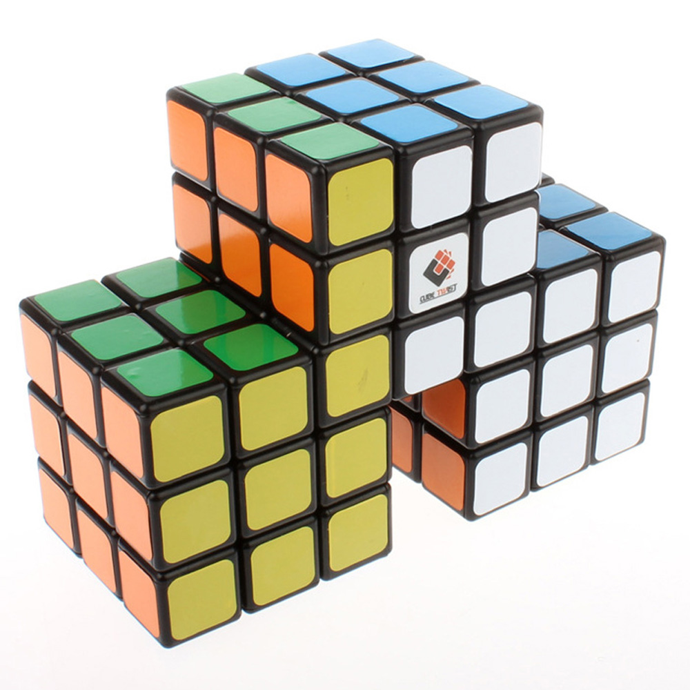 CubeTwist Triple Conjoined 3x3x3 Magic Cube Educational Toys For Kids Children(China (Mainland))