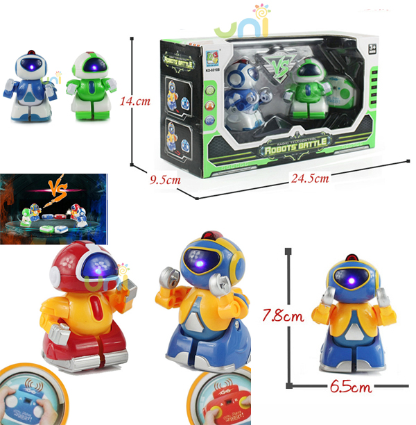 New Remote Control Robot Intelligent RC Battle Walking Robot Flashing Battle & Children Electric Toy Xmas Gift Free Shipping(China (Mainland))