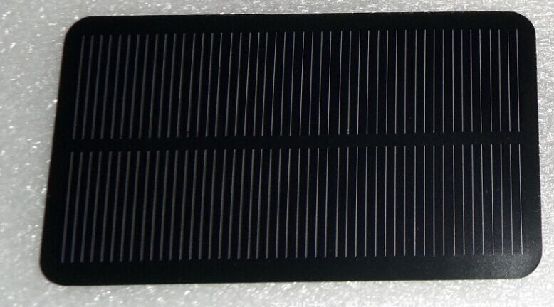 0.48W 5V Monocrystalline silicon solar panel black can be used as mobile power charger silicon solar panels sealing rubber sheet(China (Mainland))