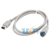 5/Lot FireWire 800 400 9P/6P 9pin to 6Pin IEEE 1394B iLink Cord DV Cable 1m Singapore Post Free Shipping
