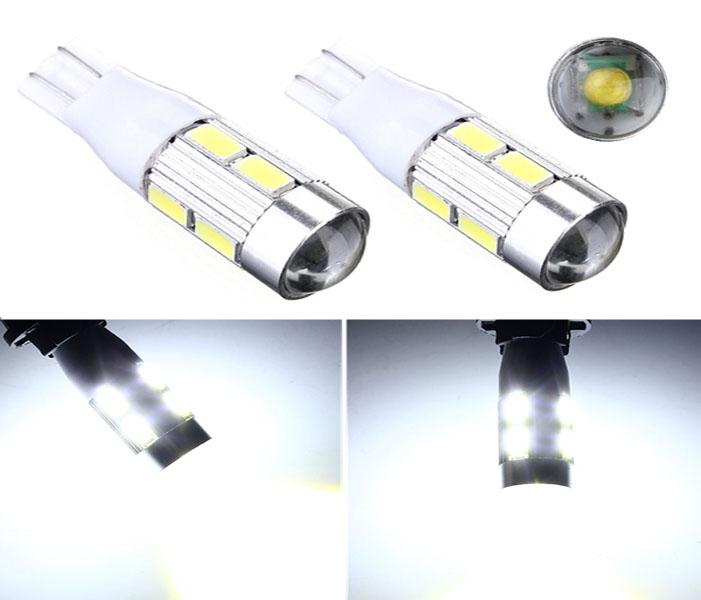 1PC/lot 2014 NEWS !! Car Auto LED T10 194 W5W Canbus 8 smd 5630 cree LED Light Bulb led light parking(China (Mainland))
