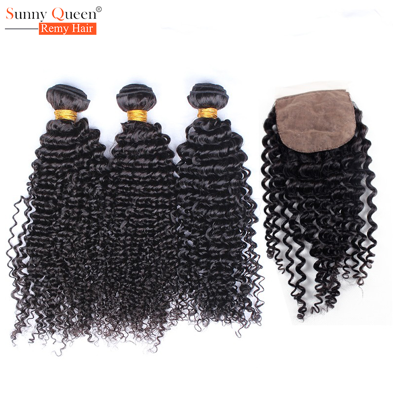 Kinky Curly Virgin Hair Silk Base Closure With Bundles Rosa Queen Hair Products Kinky Curly Malaysian Virgin Hair With Closure<br><br>Aliexpress