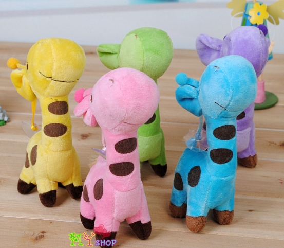 Plush Toys small deer network lowest Li the same paragraph favorite color giraffe plush toy doll gift Wholesale Hot Products(China (Mainland))