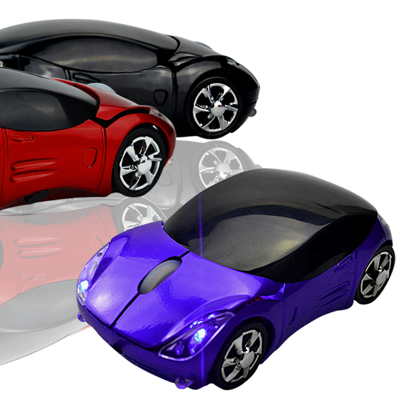 New Sports Car Style USB Optical Wired Mouse(China (Mainland))