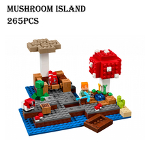 Buy Model building kits compatible lego 21129 18023 world MineCraft mushroom island Educational toys hobbies children for $14.77 in AliExpress store