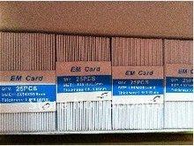 500pcs per lot 64bit real Mango ID Smart Card 1.8mm 125KHZ
