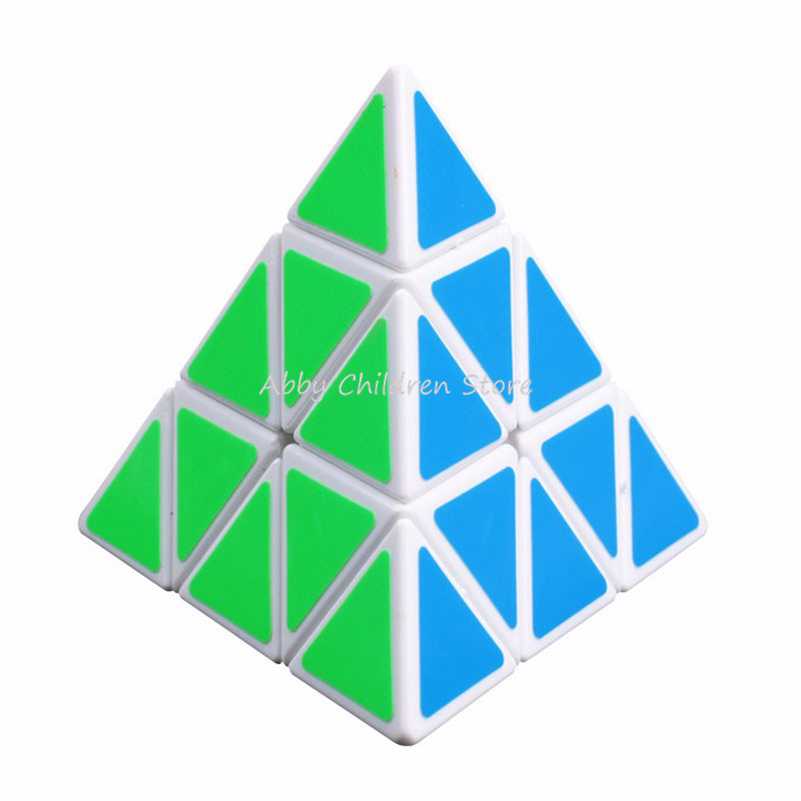 Brand New YJ Moyu Pyramid Magic Cube Pyraminx Speed Puzzle Cube Game Cubos Magicos Triangle Shape Twist Puzzle Children Kid Toy(China (Mainland))