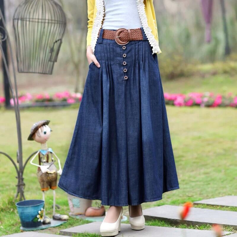 Brilliant Women Long Skirts Womens High Waist Pleated TulleTutu Maxi Skirt