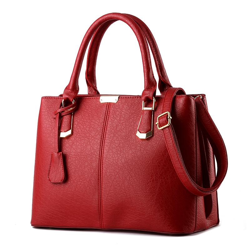 Women Bag Luxury Brand Woman High Quality Leather Handbags black Ladies Cross Handbag GIrl Messenger Bags bolsa feminina 35ZD4(China (Mainland))