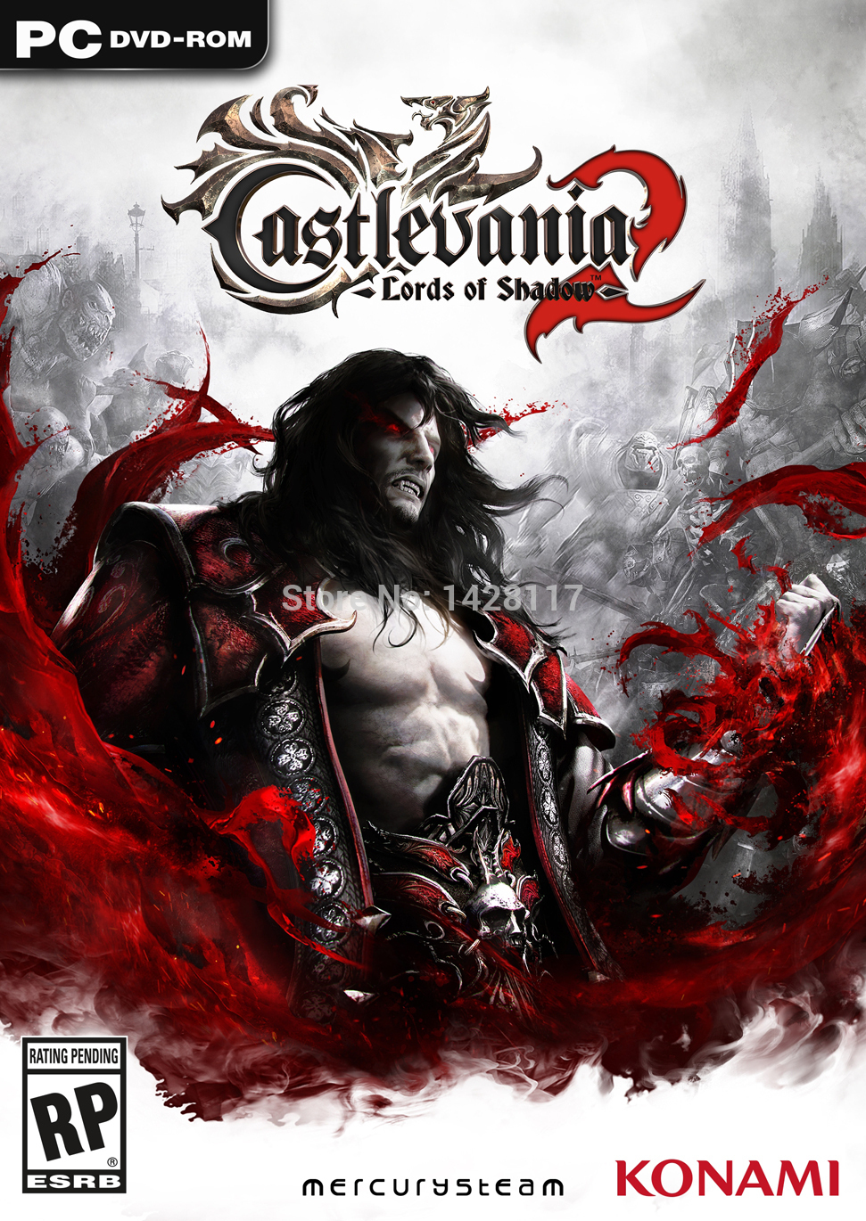 Castlevania Lords of Shadow 2 PC Game For Windows Single Game Computer Game Software The English language(China (Mainland))