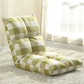 High quality linen fabric lazy sofa single sofa chair can be folded sofa bed recliner drift