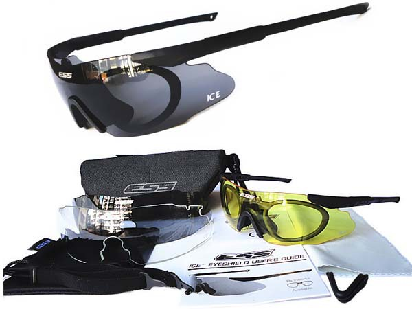 Мужские солнцезащитные очки Kuga 3 ESS ICE 2.4 TR90 Wargame ESS Crossbow ess 2015 uv400 airsoft ice