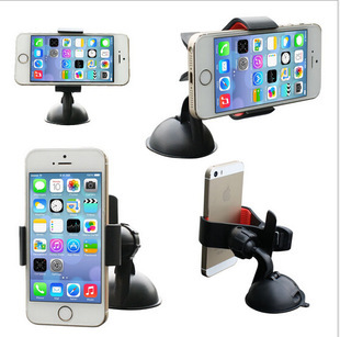 360 Degree Rotating Car Phone Windshield Sucker Mount Bracket Holder Stand Universal for Mobile iPhone GPS Tablet PC Accessories(China (Mainland))