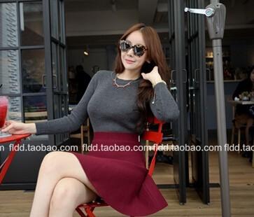 ограниченное по времени новый короткий хлопок юбки женские корейской версии конфеты цветные юбка сарафан бюст, положить на большой зонт