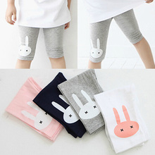 Free shipping Hot sale 2015 child clothing Casual baby girl trousers leggings rabbit Fashion Springtime Korean
