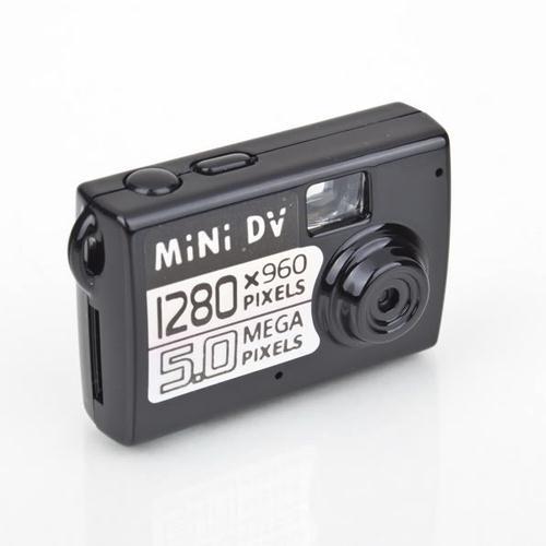 High Quality Thumb Camera Black Mini DV DVR Video Motion Sound Camera Recorder Funny