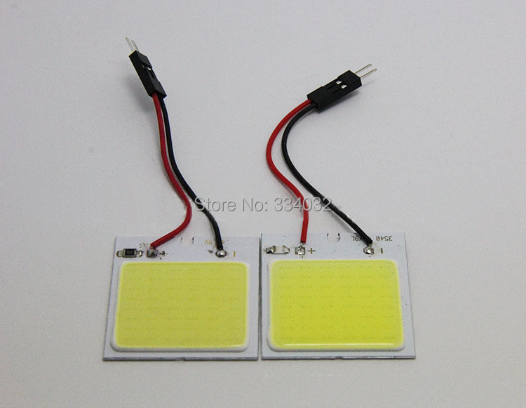 c5w cob 48 SMD chip super White Reading Lamp 12v cw led dome Bulb led Car