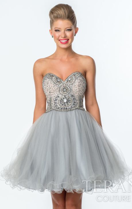 Silver Short Prom Dresses | But Dress