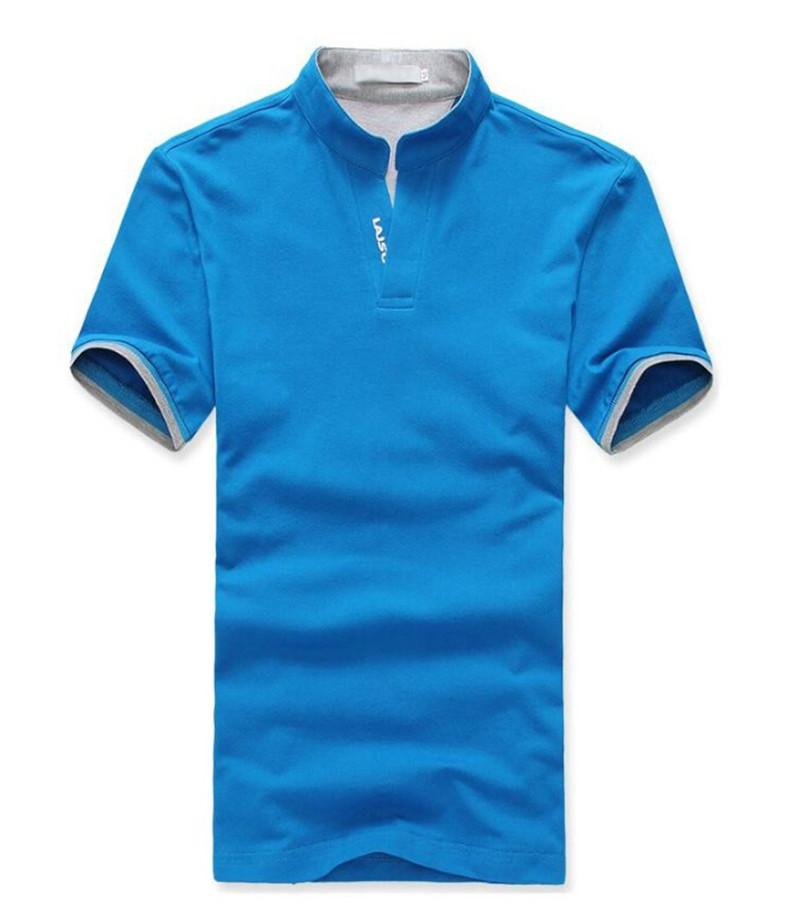 2015 Summer Cotton Short Sleeve Brand Men T Shirt Sport