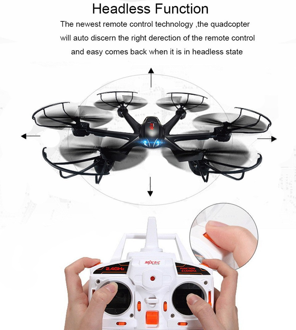 MJX X600 RC quadcopter 2 4G 6 axis 4CH RC helicopter drone can add C4005 or