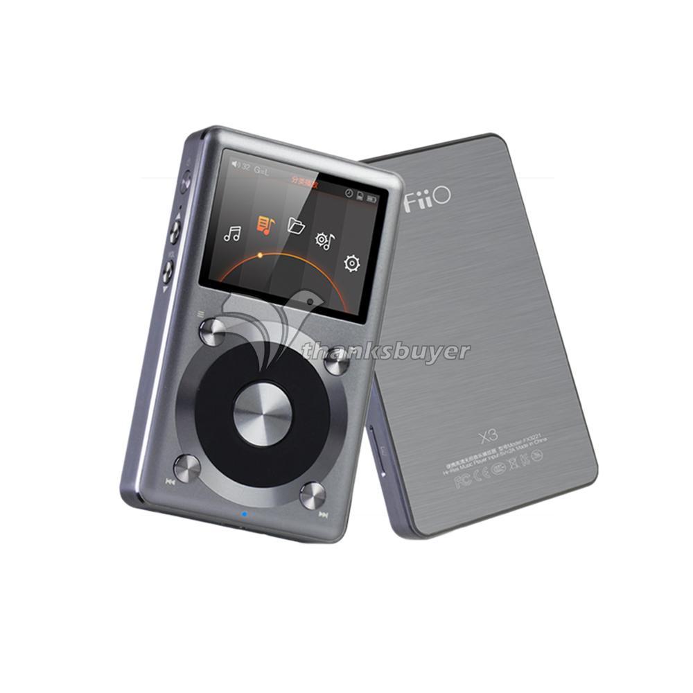 Fiio X3K X3 II 2nd Generation HIFI Native DSD Decoding 192kHz 24bit Lossless Protable MP3 Music Player(China (Mainland))