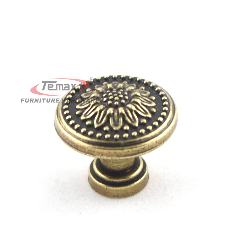 10pcs Lot 26mm European Vintage Kitchen Antique Furniture Hardware Cabinet Kn