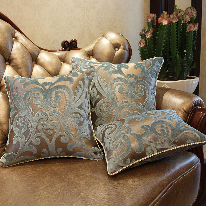 Luxury Decorative Bed Pillows : Aliexpress.com : Buy European Style Luxury Sofa Decorative Throw Pillows Cushion Cover Home ...