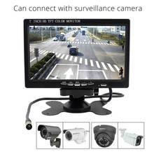 Elecrow Raspberry Pi 3 7 Inch TFT Color Monitor HD 1080P LCD Screen HDMI + VGA + AV Car Display Rear View With Remote Control(China (Mainland))