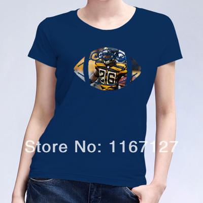 New american football sport le 39 veon bell 26 custom t for Order custom t shirts in bulk