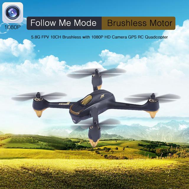 H501S Hubsan X4 RC беспилотный вертолет с 1080 P HD камера GPS Следовать За Мной Режим Автоматический Возврат Радиоуправляемые Игрушки quadcopter